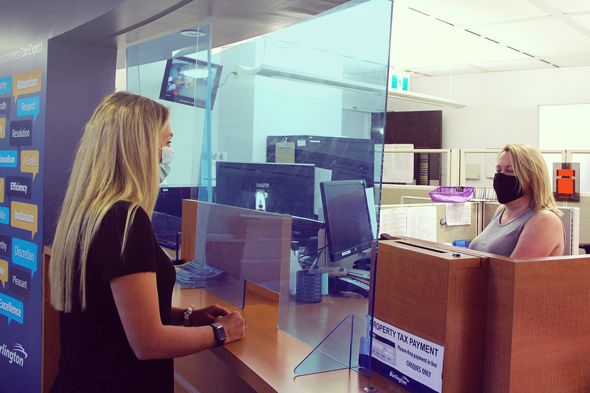 Service Burlington opens July 20 for in-person payments