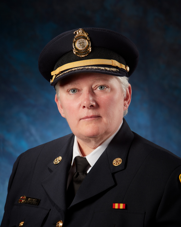 Burlington Fire Chief Karen Roche