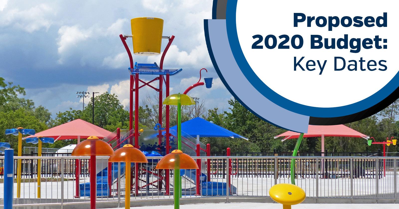 2020 Budget - Key Meeting Dates Coming Up