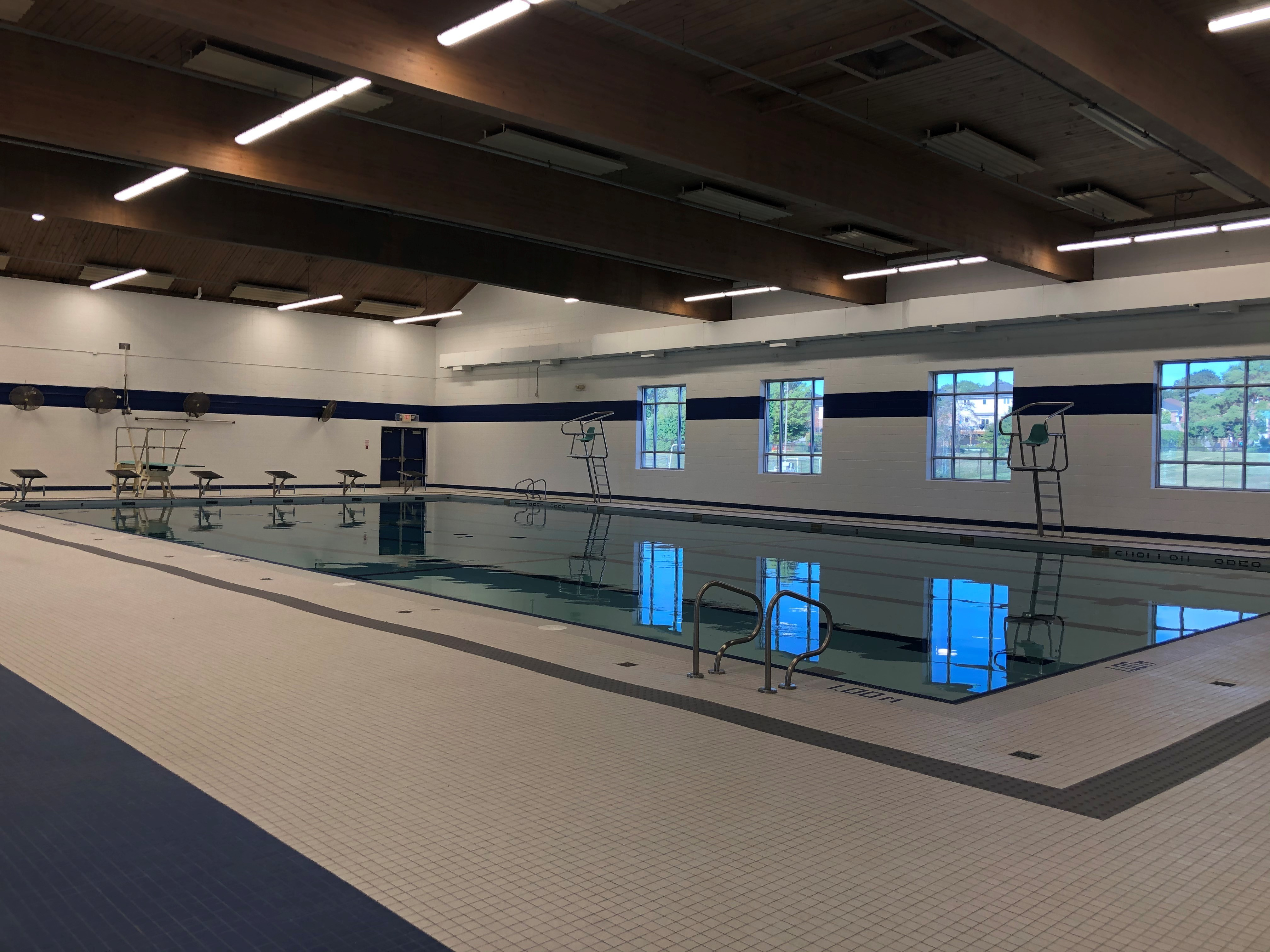 Newly renovated Angela Coughlan Pool